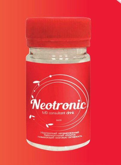 MD consultant drink Neotronic
